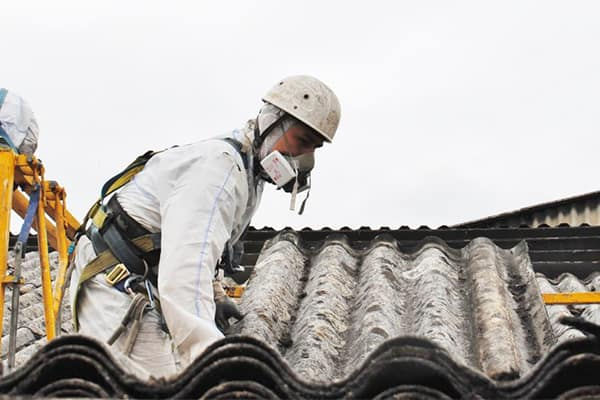 Image of our asbestos removal service on a Brisbane home